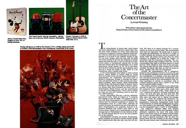 The Art of the Concertmaster