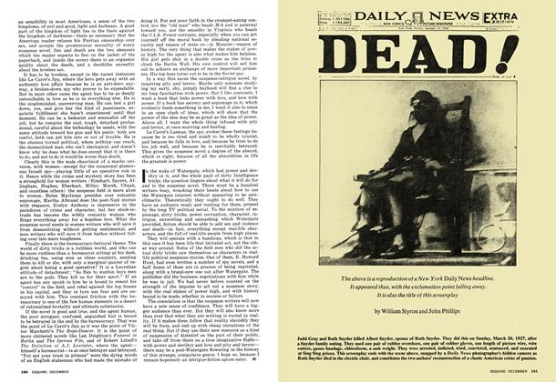 Article Preview: DEAD!, DECEMBER 1973 1973 | Esquire