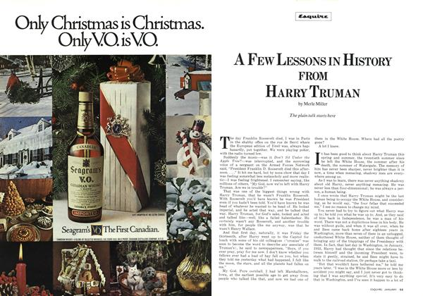 Article Preview: A Few Lessons in History From Harry Truman, JANUARY 1974 | Esquire