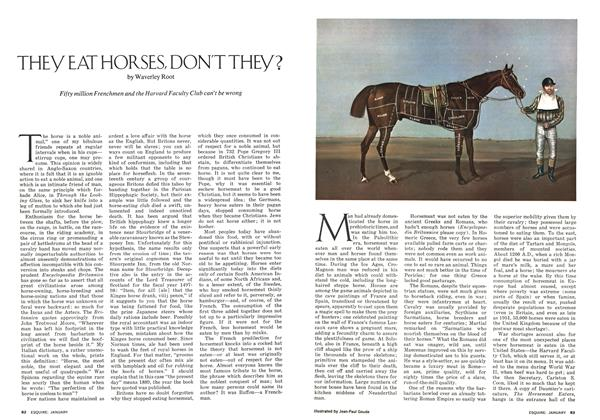 Article Preview: They Eat Horses, Don't They?, JANUARY 1974 | Esquire