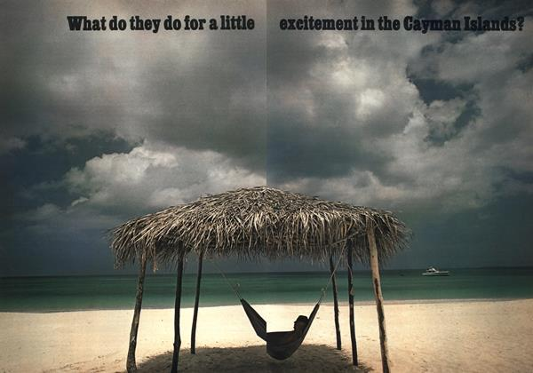 What Do They Do for a Little Excitement in the Cayman Islands?