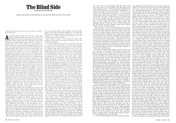 Article Preview: The Blind Side, JANUARY 1974 | Esquire