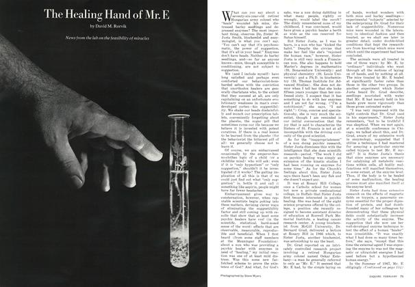 The Healing Hand of Mr. E