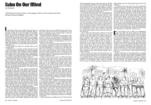 Article Preview: Cuba on Our Mind, February 1974 | Esquire