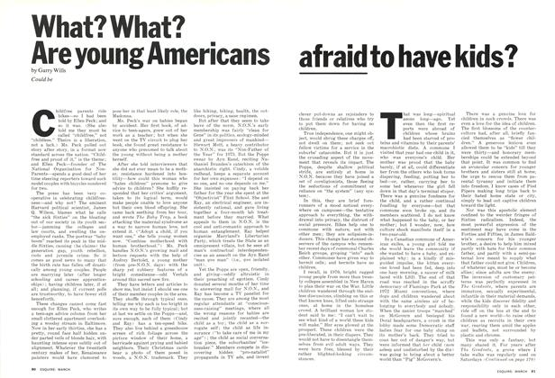 What? What? Are Young Americans Afraid to Have Kids?