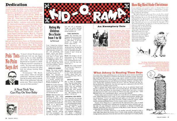 Article Preview: KID-O-RAMA, MARCH 1974 1974 | Esquire