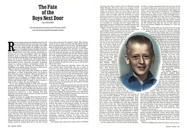 The Fate of the Boys Next Door