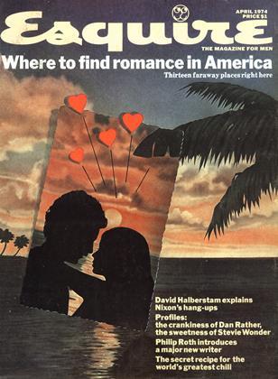 APRIL 1974 | Esquire