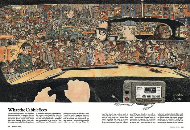 Article Preview: What the Cabbie Sees, APRIL 1974 1974 | Esquire