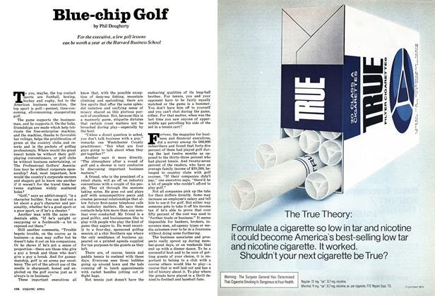 Article Preview: Blue-chip Golf, April 1974 | Esquire