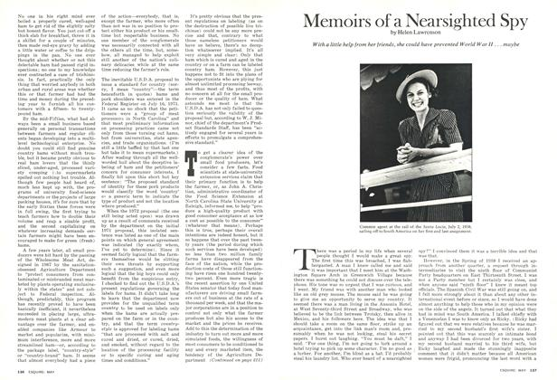 Article Preview: Memoirs of a Nearsighted Spy, May 1974 | Esquire