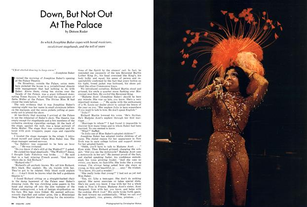 Article Preview: Down, But Not Out at the Palace, June 1974 | Esquire