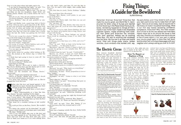 Article Preview: Fixing Things: A Guide for the Bewildered, July 1974 | Esquire