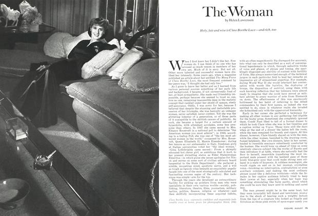 Article Preview: The Woman, August 1974 | Esquire