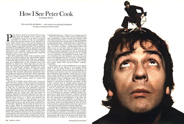 Article Preview: How I See Peter Cook, AUGUST 1974 1974 | Esquire