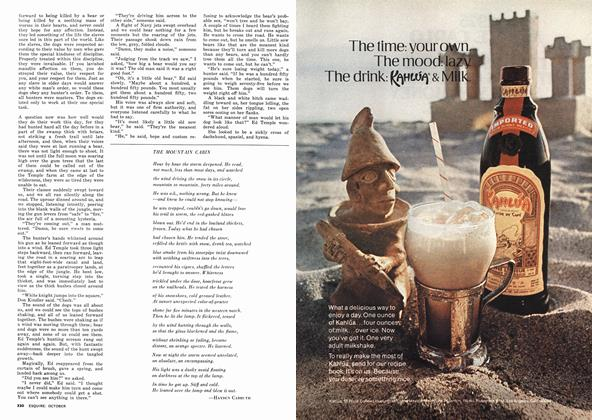 Article Preview: The Mountain Cabin, OCTOBER 1974 1974 | Esquire