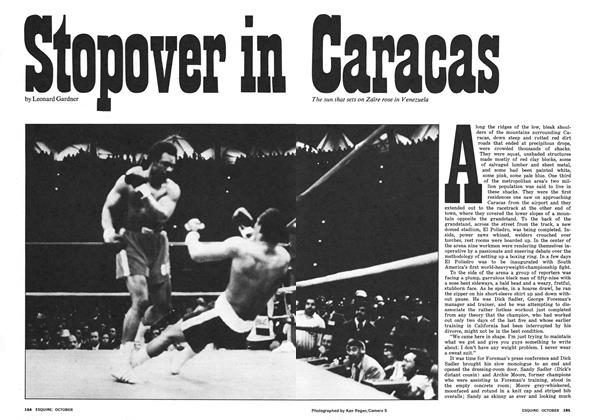 Article Preview: Stopover in Caracas, October 1974 | Esquire