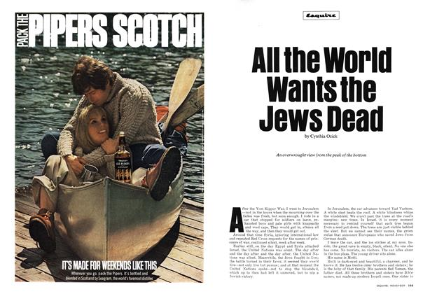 Article Preview: All the World Wants the Jews Dead, November 1974 | Esquire