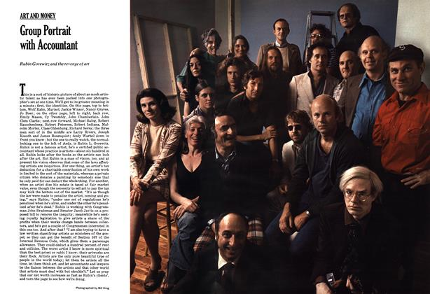 Article Preview: Group Portrait with Accountant, NOVEMBER 1974 1974   Esquire