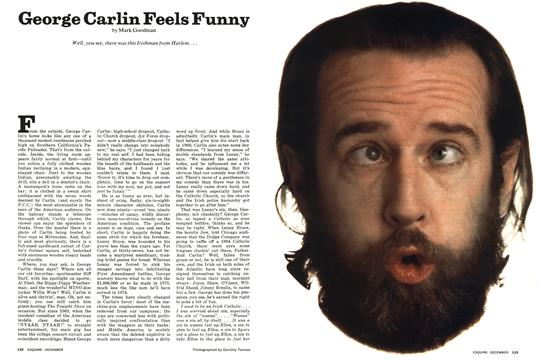 George Carlin Feels Funny - December | Esquire