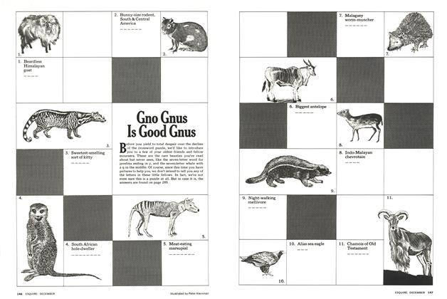 Article Preview: Gno Gnus Is Good Gnus, December 1974 | Esquire