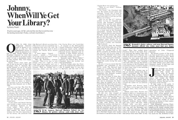 Article Preview: Johnny, When Will Ye Get Your Library?, JANUARY 1975 1975 | Esquire