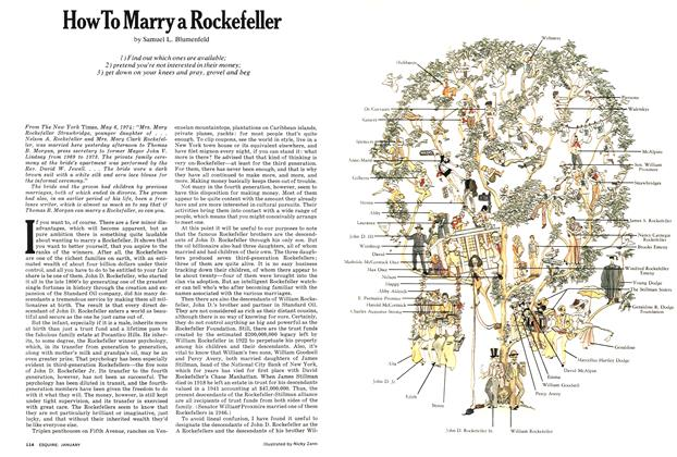 How To Marry a Rockefeller