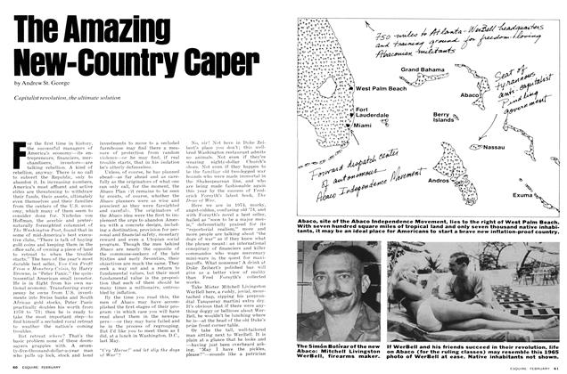 Article Preview: The Amazing New-Country Caper, February 1975 | Esquire