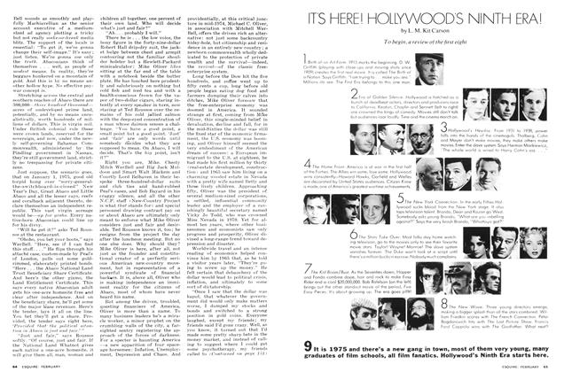 Article Preview: It's Here! Hollywood's Ninth Era!, February 1975 | Esquire