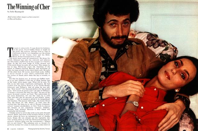 Article Preview: The Winning of Cher, February 1975 | Esquire