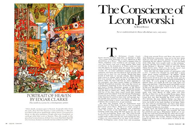 Article Preview: The Conscience of Leon Jaworski, February 1975 | Esquire
