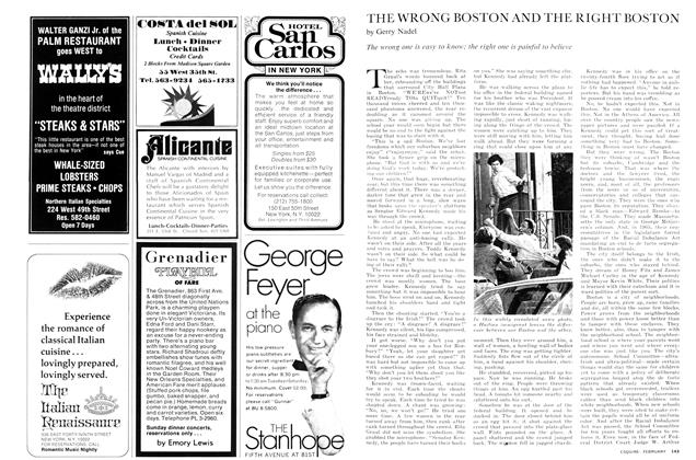 Article Preview: The Wrong Boston and the Right Boston, February 1975 | Esquire
