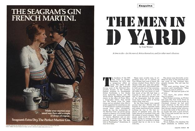 Article Preview: The Men in D Yard, March 1975 1975 | Esquire