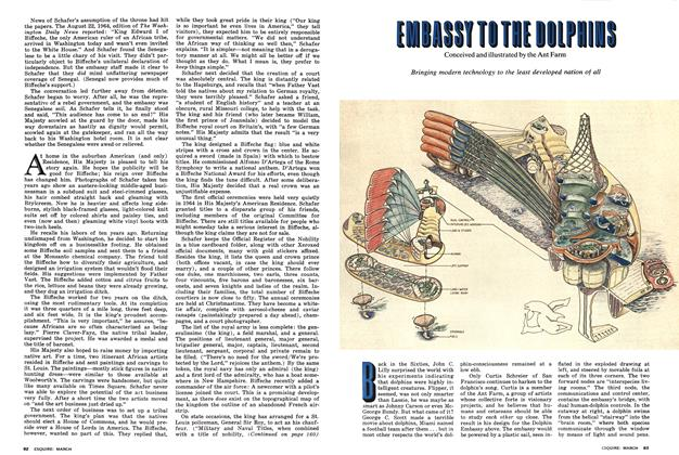 Article Preview: EMBASSY TO THE DOLPHINS, March 1975 | Esquire