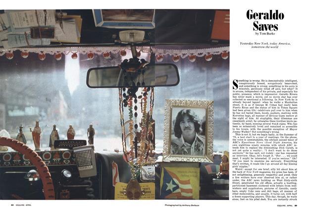 Article Preview: Geraldo Saves, April 1975 1975   Esquire