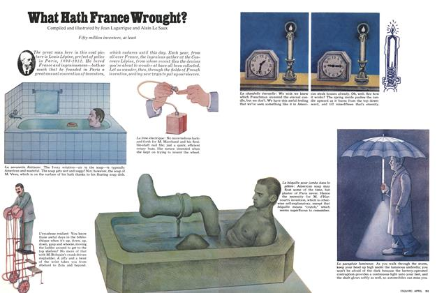 Article Preview: What Hath France Wrought?, April 1975 | Esquire