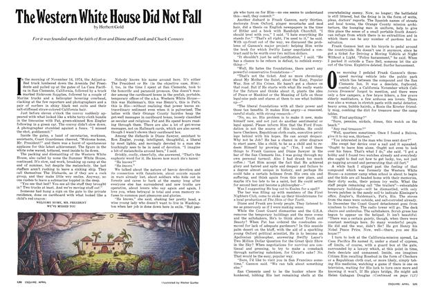 The Western White House Did Not Fall