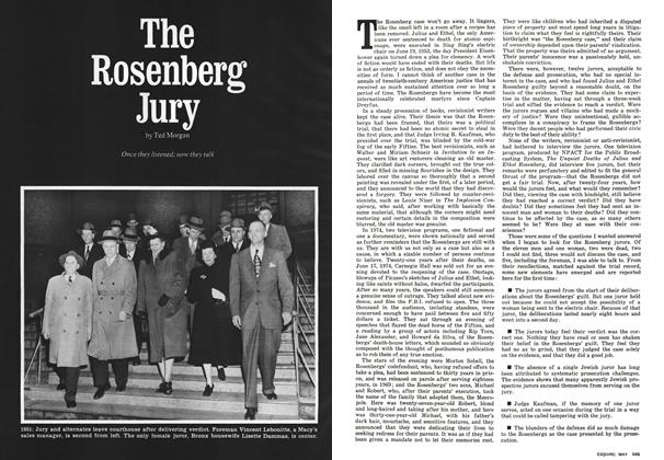 Article Preview: The Rosenberg Jury, MAY 1975 1975 | Esquire