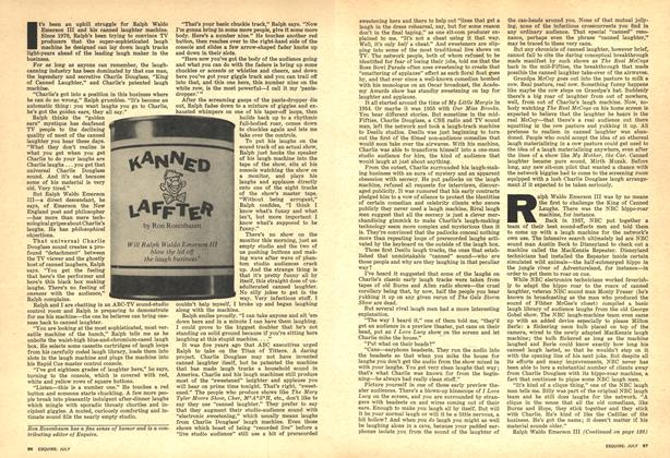 Article Preview: Kanned Laffter, JULY 1975 1975 | Esquire