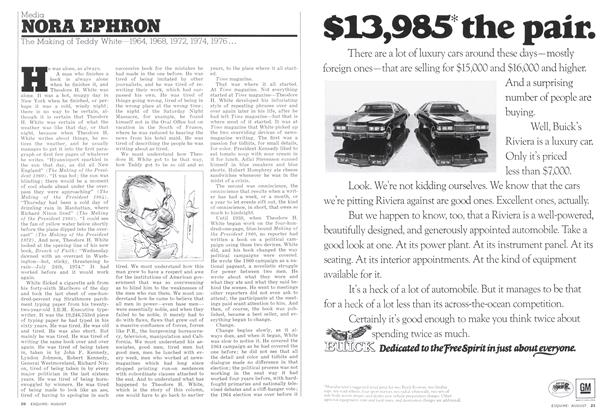 Article Preview: Media, AUGUST 1975 1975 | Esquire