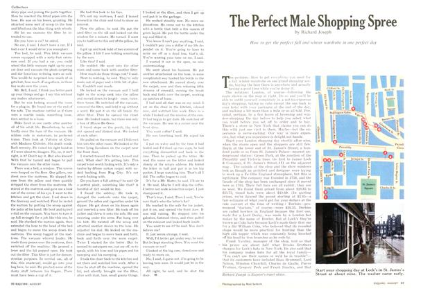 The Perfect Male Shopping Spree