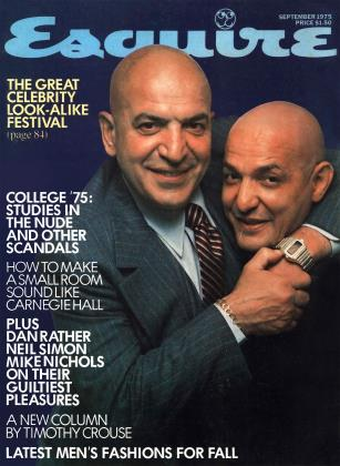 SEPTEMBER 1975 | Esquire