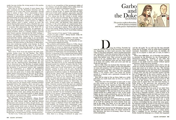 Article Preview: Garbo and the Duke, September 1975 | Esquire