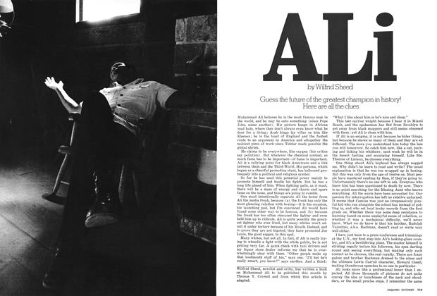 Article Preview: Ali, OCTOBER 1975 1975 | Esquire