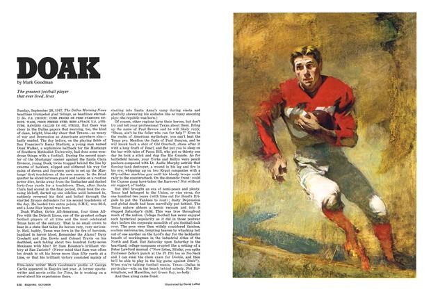 Article Preview: Doak, OCTOBER 1975 1975 | Esquire