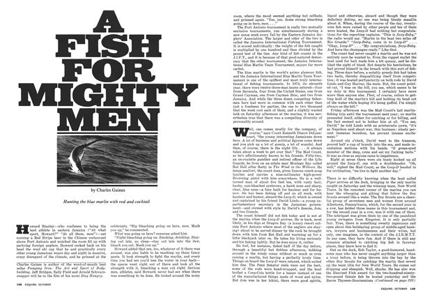 Article Preview: A Fish for Mighty Men, OCTOBER 1975 1975 | Esquire