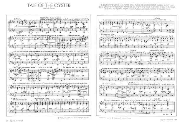 Tale of the Oyster