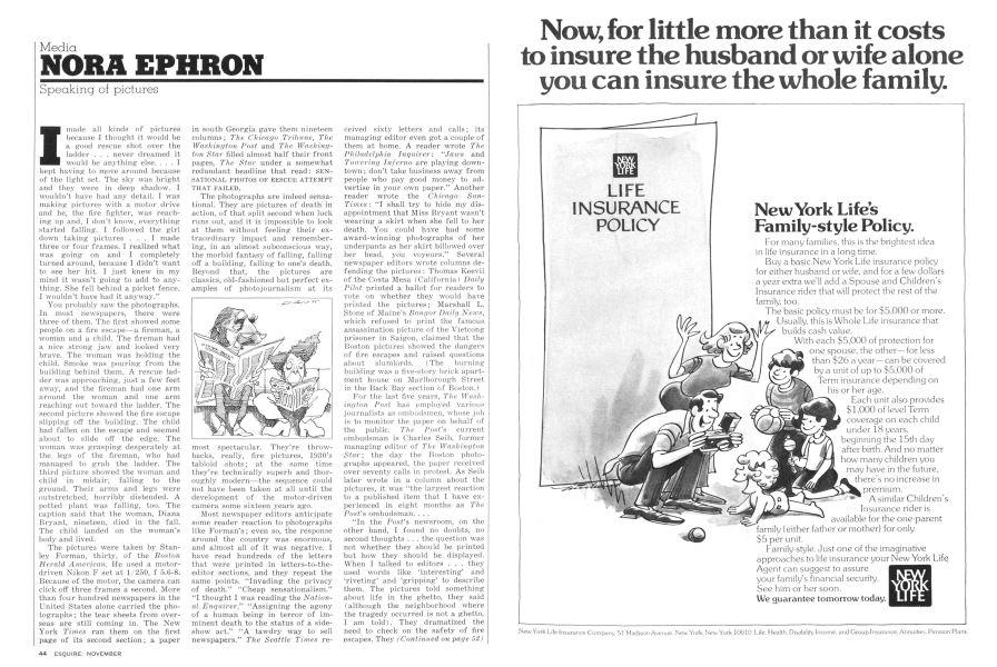 Speaking Of Pictures Esquire November 1975