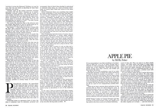 Apple Pie - December | Esquire