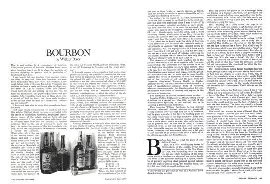 Bourbon - December | Esquire